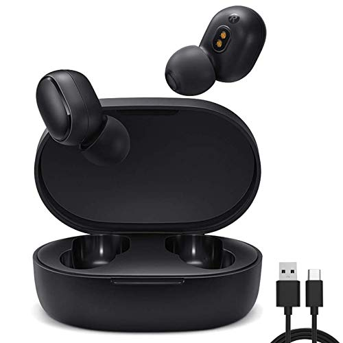 Per Xiaomi Mi Ture Wireless Earbuds Basic 2(Redmi Airdots 2 International Version),TWS Bluetooth 5.0 Cuffie Stereo Bass Cuffie Senza Scatola di Ricarica True Stereo Sound Mini auricolari Bluetooth