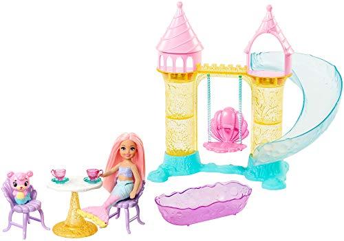 Barbie FXT20 - Dreamtopia Chelsea Meerjungfrauen Spielplatz mit Bärchen, Puppen Spielzeug und Puppenzubehör ab 3 Jahren