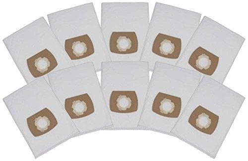 10 Premium Staubsaugerbeutel passend für Mauk NTS 1.450W 30 L