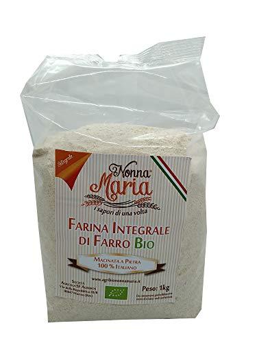 Farina di Farro Integrale Biologica Macinata a Pietra - 1 kg