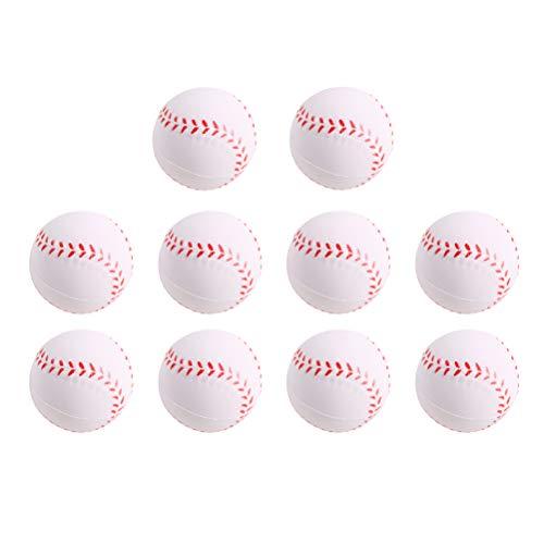 LIOOBO Aufblasbare Baseball-Bälle des Strand-10PC - Pool-Party-Bevorzugungen - Strand-Spielwaren - Party Pack - Massen-Strand-Bälle