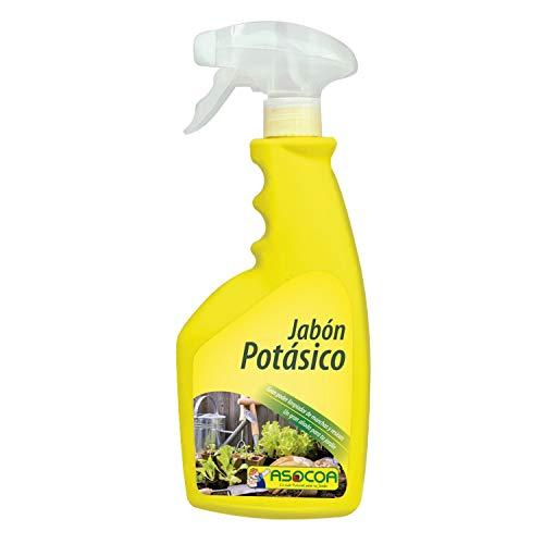 ASOCOA COA127 Jabon Potásico concentrado 1 litros, Amarillo, Potásico concentrado