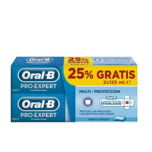 PASTA ORAL B PRO EXPERT MULTIPRO 2X125ML