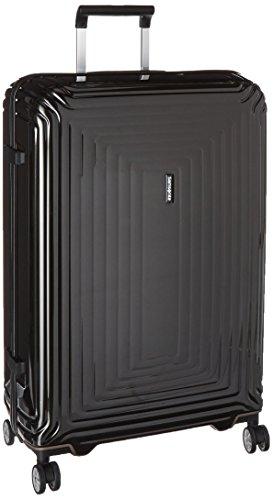 Samsonite Neopulse Hardside Luggage with Spinner Wheels, Metallic Black, Checked-Large 28-Inch