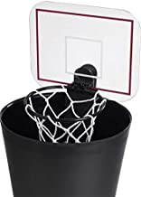wasserfest Abfall-Papierkorb Leder 10 l Tyfiner s/ü/ßer Papierkorb f/ür Kinder Basketball Court 25 x 20 x 27 cm 10 l