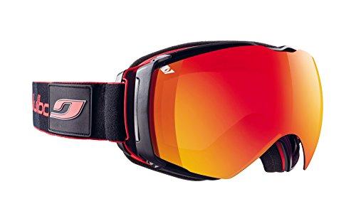 Julbo Airflux Masque de Ski Homme, Rouge/Noir, Taille XL