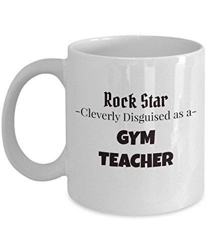 Taza de regalo para profesores de gimnasia, para profesores de escuela, regalo para profesores de gimnasia