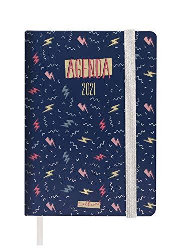 Finocam - Agenda 2021 1 Día página Talkual Rayos Español - 124 x 174 mm