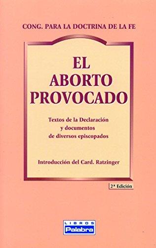 El aborto provocado (Libros Palabra)
