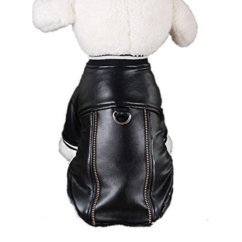 Hunde-Lederjacke, Hundemantel, Hemd, winddicht und regendicht, Hunde-Kapuzenpullover, einfach anzuziehen