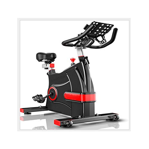 HMBB Bicicletas estáticas y de spinning, Bicicletas de ejercicio, bici de ciclo indoor, manillares ajustables Asiento Resistencia, Rotar electromagnética de bicicletas for uso en el hogar con múltiple