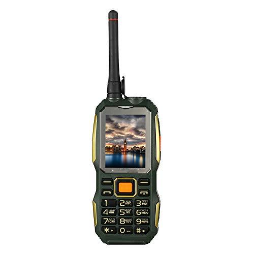 LIGHTOP UHF Walkie Talkie A Prueba De Golpes Resistente Al Aire Libre Superior del TeléFono MóVil Manos Libres Clip De CinturóN Antena Speed Dial DVR P156