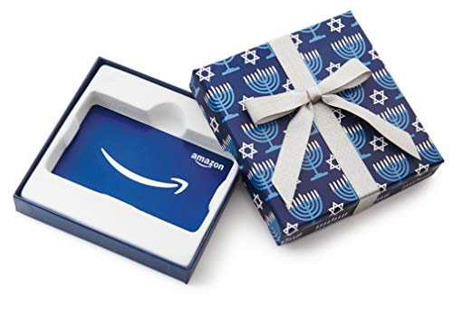 Amazon.com Gift Card in a Hanukkah Gift Box