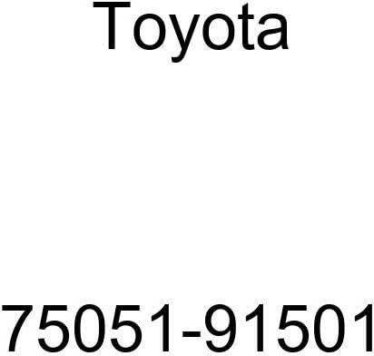 Genuine Toyota 75051-91501 Window Max Los Angeles Mall 54% OFF Quarter Molding