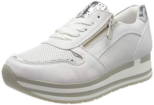 MARCO TOZZI Damen 2-2-23717-34 Sneaker, Weiß (White Comb 197), 39 EU