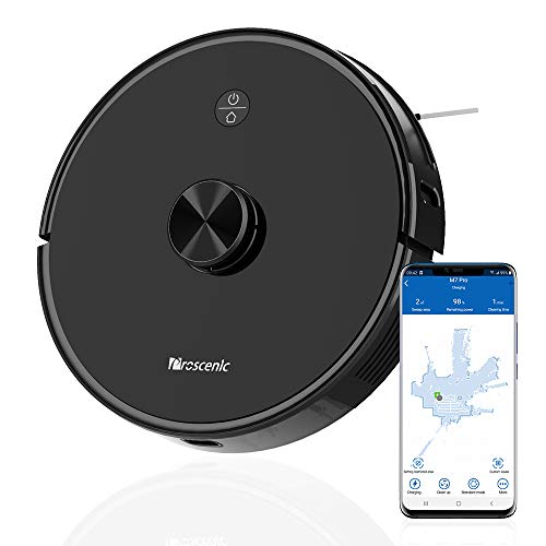 Buy Discount Proscenic M7 Pro LDS Robot Vacuum Cleaner, Laser Navigation, 2600Pa Powerful Suction, A...