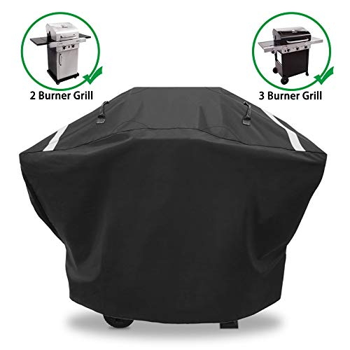 Hisencn Gas Grill Cover for Charbroil 2-3 Burner, 52 Inches Heavy Duty Waterproof BBQ Barbecue Cover for Performance TRU-Infrared, Classic 280, 463672717, UV Fade Restistant Covers Grill