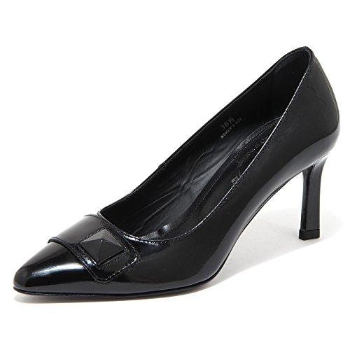 Tod's 80278 Decollete Cuoio PIRAMIDE Scarpa Donna Shoes Women [38]