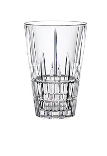 Spiegelau & Nachtmann, 4-teiliges Latte Macchiato-Set, Kristallglas, 300 ml, Perfect Serve, 4500194