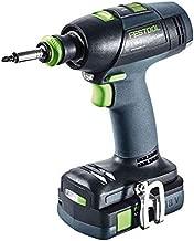 Festool 575695 Cordless Drill Set T 18+3 18V Li 3.1 Ah I-Compact