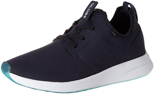 Globe Herren Dart Lyt Low-Top, Blau (Navy/White),42.5EU (9.5 US)