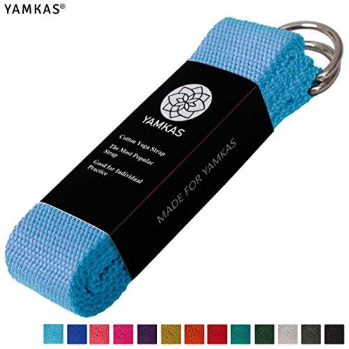 Yamkas Cinturon Yoga Correa | 1.8M - 3M | Correas Yoga Estiramiento | Yoga...