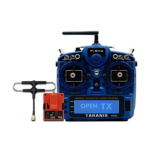 FrSky Taranis X9D Plus SE 2019 Access Transmitter Combo with R9M 2019 Module (Midnight Blue)