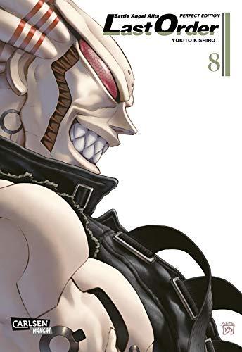 Battle Angel Alita - Last Order - Perfect Edition 8: Kultiger Cyberpunk-Action-Manga in hochwertiger Neuausgabe