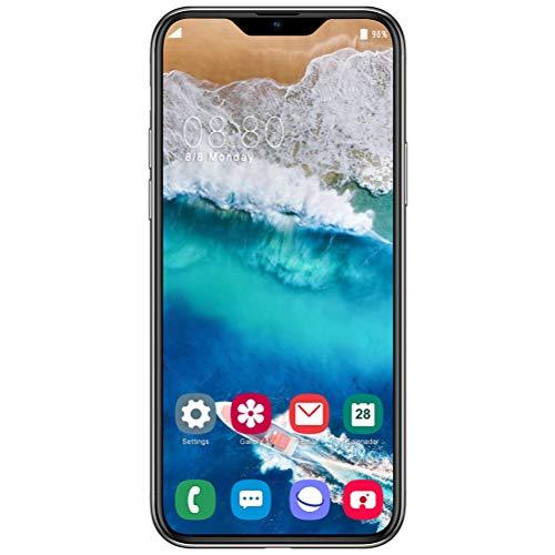 ZXYSR I12pro Smartphone 4G, 4 GB + 64 GB di RAM 6,5 Pollici Schermo 13MP + 24MP Pixel Telefonino Dual SIM 4800Mah Android 9.0 Cellulari Economici, Smartphone Economici,Bianca