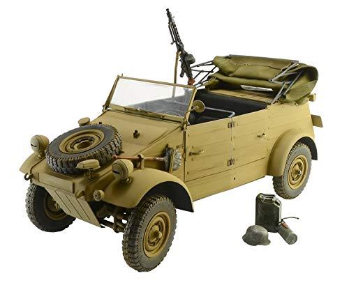 ITALERI 7405S - 1:9 KDF. 1 Typ 82 Kübelwagen , Modellbau, Bausatz, Standmodellbau, Basteln, Hobby, Kleben, Plastikbausatz, detailgetreu