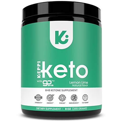 KEPPI Exogenous Ketones Keto Salts BHB Powder Supplement: Ketone Supplement Formulated to Increase Energy, Burn Fat, Maintain Ketosis and Mental Focus