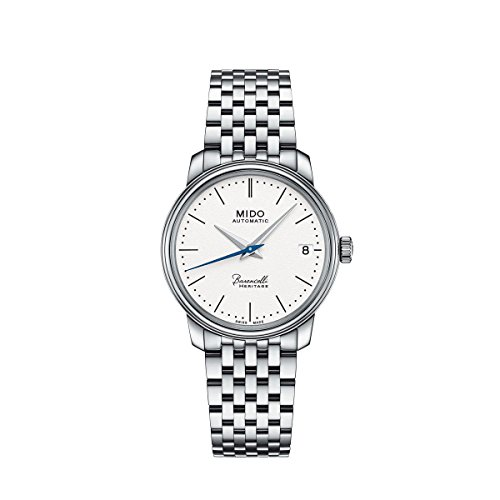 Mido Damen Digital Automatik Uhr mit Edelstahl Armband M0272071101000