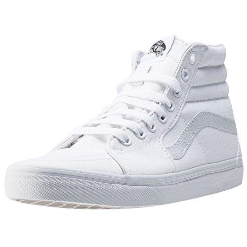 Vans SK8-HI, Unisex-Erwachsene Hohe Sneakers, Weiß (True White W00), 37 EU