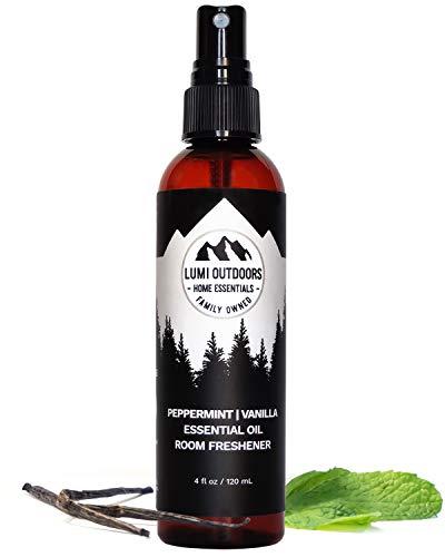 Natural Air Freshener - Peppermint Vanilla - Essential Oil Odor...