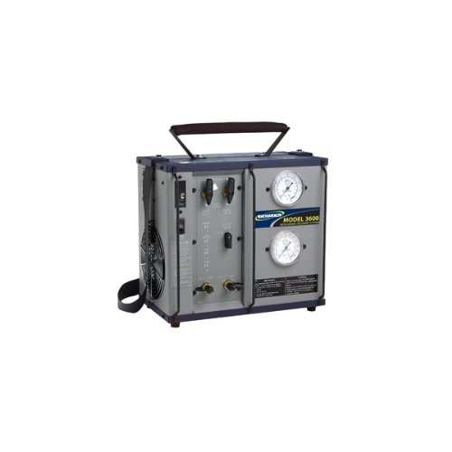Bacharach 2000-3601 Model FM-3600-S Commercial Refrigerant Recovery Machine with 80% Tank Shut Off, 550 PSI High Pressure Limit, 100/115/230 VAC, 50/60 Hz