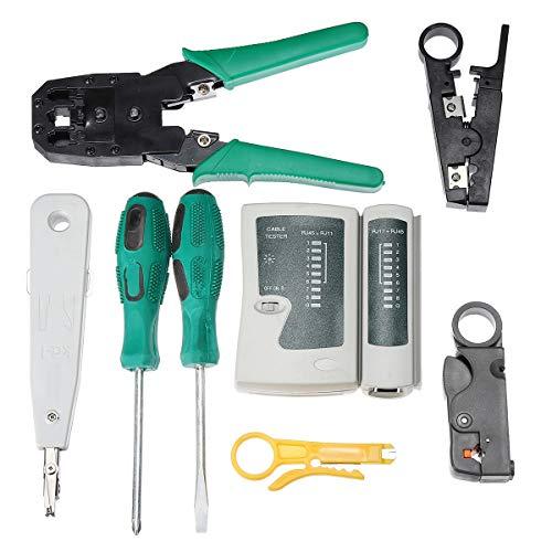 no-branded Pliers Cat5 RJ45 RJ11 RJ12 LAN Network Tool Kit Crimper...