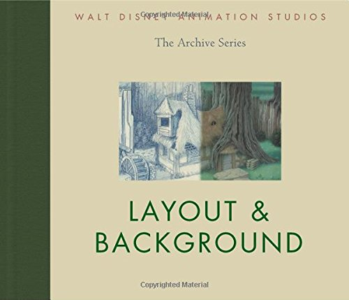 Walt Disney Animation Studios The Archive Series Layout & Background