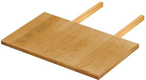Brasilmöbel Ansteckplatte 50x80 Honig Rio Classiko oder Rio Kanto - Pinie Massivholz Echtholz - Größe & Farbe wählbar - für Esstisch Tischverlängerung Holztisch Tisch Erweiterung ausziehbar