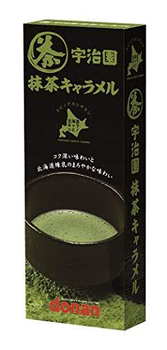 道南食品 宇治園抹茶キャラメル 18粒 ×10個