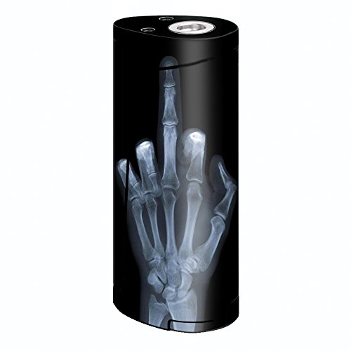 Skin Decal Vinyl Wrap for Smok Priv V8 60w Vape stickers skins cover/ hand sign x-ray #1