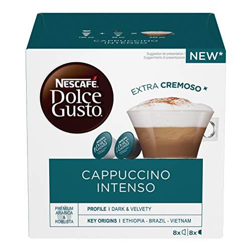 Nescafé Dolce Gusto Cappuccino Intenso, 6 Confezioni da 16 Capsule (96 Capsule)