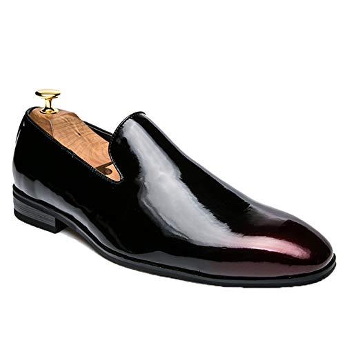 Mocasines para Hombre, Uniformes, Zapatos Formales, Calzado Informal sin Cordones, cómodos Zapatos...