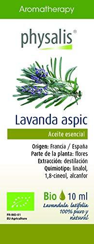 Physalis Esencia Lavanda (Spica) 10 ml Bio - 1 unidad