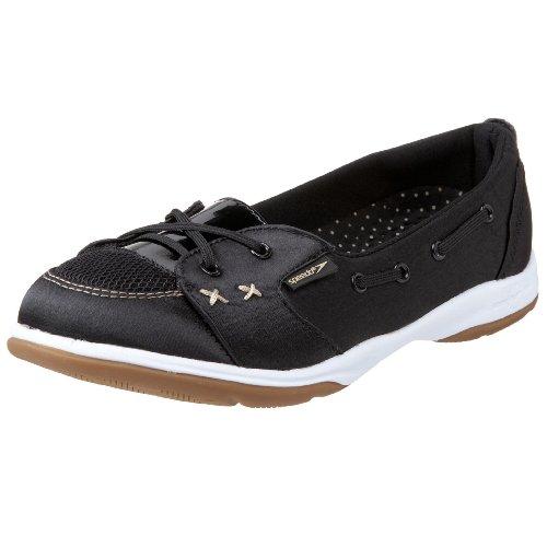 Speedo Women's Deck Skimmer All Purpose Water And Boat Shoe,Black,5