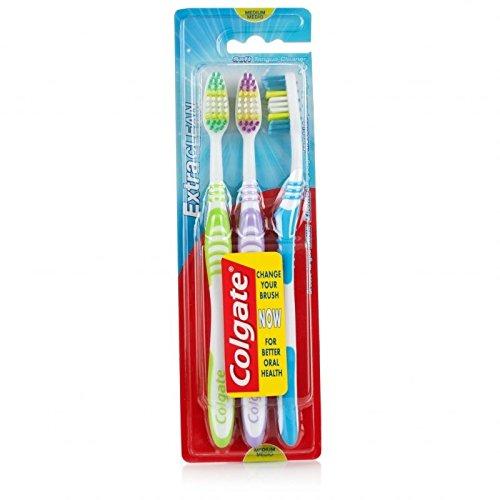 Colgate Extra saubere Zahnbürsten (3er-Pack) Mittel