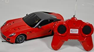 RC Ferrari 599GTO–Escala.: 1: 24–teledirigido–Juego completo–Color.: Rojo–Licencia de réplica