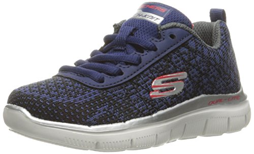 Skechers Skechers Jungen Flex Advantage 2.0-Golden Poi Sneaker, Blau (Nvbk), 28.5 EU