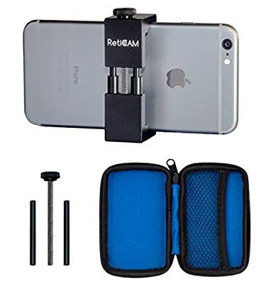 RetiCAM Smartphone Tripod Mount - Metal Universal Smartphone Tripod Adapter