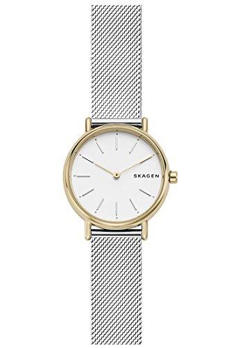 Skagen Damen Analog Quarz Uhr mit Edelstahl Armband SKW2729