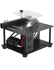 110 – 240 V tezgah tipi daire testere, mini masaüstü testere, testere bıçaklı elektrikli kesme makinesi, ayar hızı 35 mm kesme derinliği, ahşap plastik akrilik kesmek için